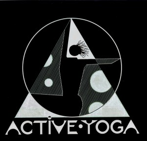 Active Yoga Black Logo