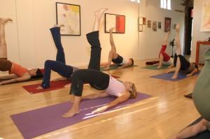 yoga class bridge